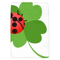 Insect Flower Floral Animals Green Red Flap Covers (S)