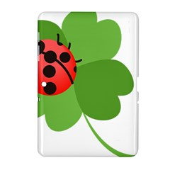 Insect Flower Floral Animals Green Red Samsung Galaxy Tab 2 (10 1 ) P5100 Hardshell Case