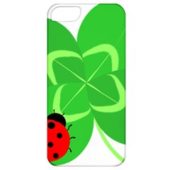 Insect Flower Floral Animals Green Red Line Apple iPhone 5 Classic Hardshell Case