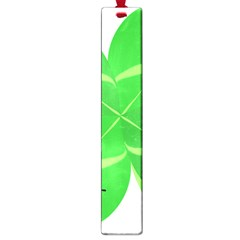 Insect Flower Floral Animals Green Red Line Large Book Marks