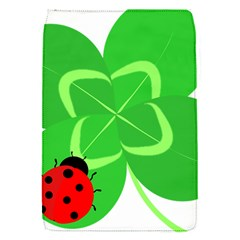 Insect Flower Floral Animals Green Red Line Flap Covers (S)