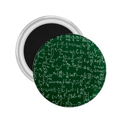 Formula Number Green Board 2.25  Magnets