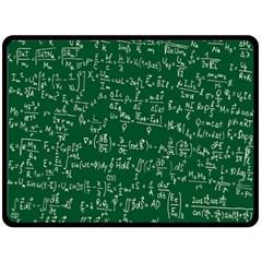 Formula Number Green Board Fleece Blanket (Large)