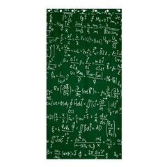 Formula Number Green Board Shower Curtain 36  x 72  (Stall)