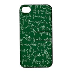 Formula Number Green Board Apple iPhone 4/4S Hardshell Case with Stand