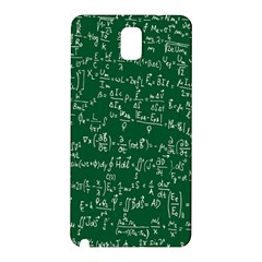 Formula Number Green Board Samsung Galaxy Note 3 N9005 Hardshell Back Case