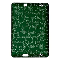 Formula Number Green Board Amazon Kindle Fire HD (2013) Hardshell Case