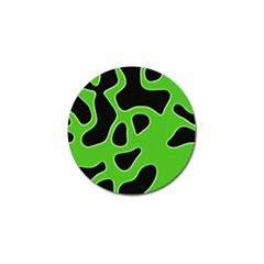 Abstract Shapes A Completely Seamless Tile Able Background Golf Ball Marker