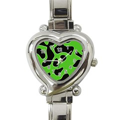 Abstract Shapes A Completely Seamless Tile Able Background Heart Italian Charm Watch
