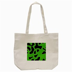 Abstract Shapes A Completely Seamless Tile Able Background Tote Bag (Cream)