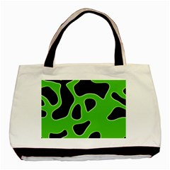 Abstract Shapes A Completely Seamless Tile Able Background Basic Tote Bag (Two Sides)