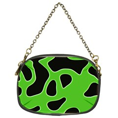 Abstract Shapes A Completely Seamless Tile Able Background Chain Purses (One Side)