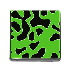 Abstract Shapes A Completely Seamless Tile Able Background Memory Card Reader (Square)