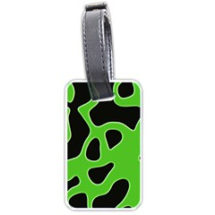 Abstract Shapes A Completely Seamless Tile Able Background Luggage Tags (One Side)