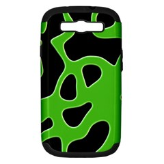 Abstract Shapes A Completely Seamless Tile Able Background Samsung Galaxy S III Hardshell Case (PC+Silicone)