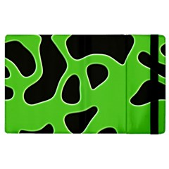 Abstract Shapes A Completely Seamless Tile Able Background Apple Ipad 2 Flip Case