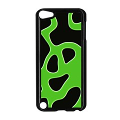 Abstract Shapes A Completely Seamless Tile Able Background Apple iPod Touch 5 Case (Black)