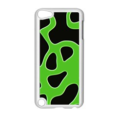 Abstract Shapes A Completely Seamless Tile Able Background Apple iPod Touch 5 Case (White)