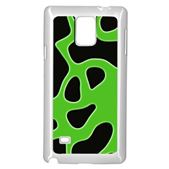 Abstract Shapes A Completely Seamless Tile Able Background Samsung Galaxy Note 4 Case (white)