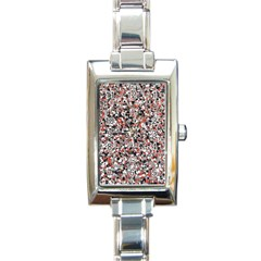 Hurley Mix Electric Electric Red Blend Rectangle Italian Charm Watch