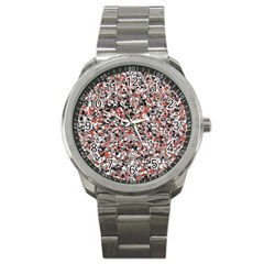 Hurley Mix Electric Electric Red Blend Sport Metal Watch