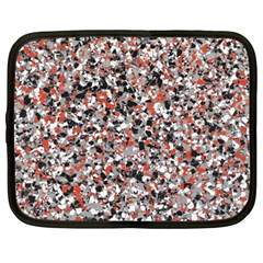 Hurley Mix Electric Electric Red Blend Netbook Case (Large)