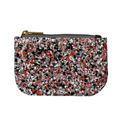 Hurley Mix Electric Electric Red Blend Mini Coin Purses