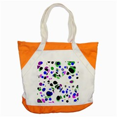 Colorful Random Blobs Background Accent Tote Bag
