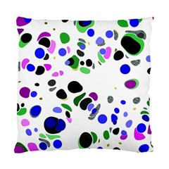 Colorful Random Blobs Background Standard Cushion Case (Two Sides)