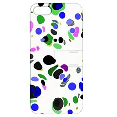 Colorful Random Blobs Background Apple iPhone 5 Hardshell Case with Stand
