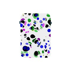 Colorful Random Blobs Background Apple Ipad Mini Protective Soft Cases