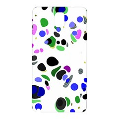 Colorful Random Blobs Background Samsung Galaxy Note 3 N9005 Hardshell Back Case