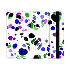 Colorful Random Blobs Background Samsung Galaxy Tab Pro 8 4  Flip Case