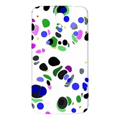Colorful Random Blobs Background Samsung Galaxy Mega I9200 Hardshell Back Case