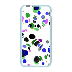 Colorful Random Blobs Background Apple Seamless iPhone 6/6S Case (Color)