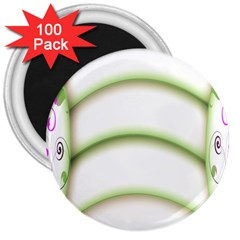 Abstract Background 3  Magnets (100 Pack)