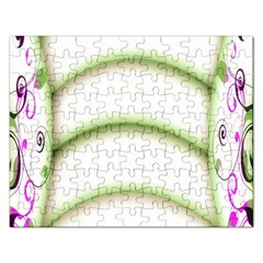 Abstract Background Rectangular Jigsaw Puzzl