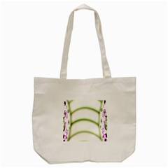 Abstract Background Tote Bag (cream)