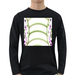 Abstract Background Long Sleeve Dark T Shirts