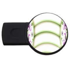 Abstract Background USB Flash Drive Round (4 GB)