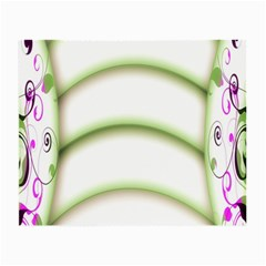 Abstract Background Small Glasses Cloth (2-Side)