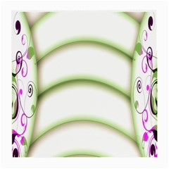 Abstract Background Medium Glasses Cloth