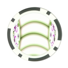 Abstract Background Poker Chip Card Guard