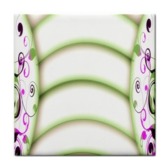 Abstract Background Face Towel