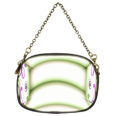 Abstract Background Chain Purses (one Side)