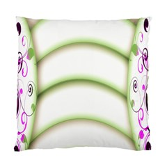 Abstract Background Standard Cushion Case (One Side)