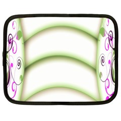 Abstract Background Netbook Case (xxl)