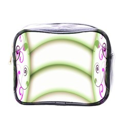 Abstract Background Mini Toiletries Bags