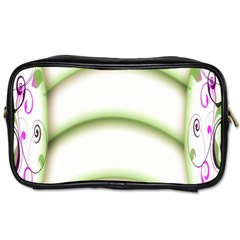 Abstract Background Toiletries Bags