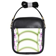 Abstract Background Girls Sling Bags